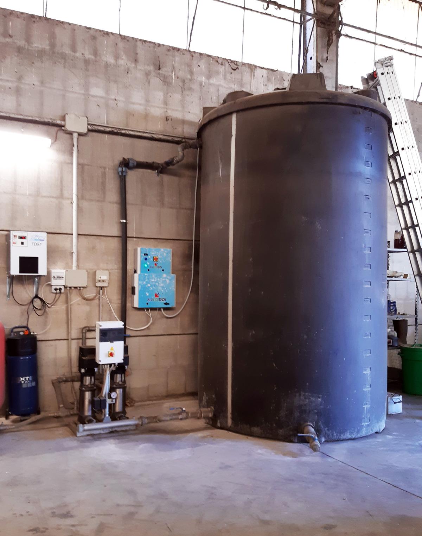 Sanificazione cisterna con ozono
