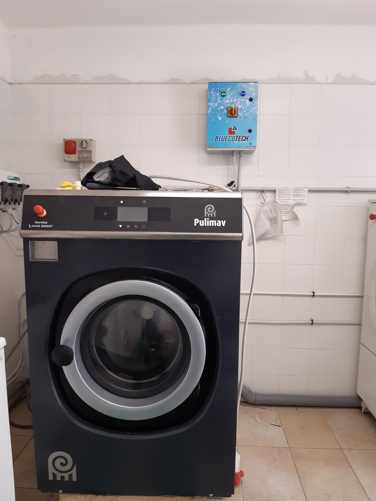Sanificazione lavatrici